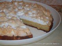 Творожный пирог «Снежинка»