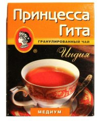 Чай чёрный ТМ Принцесса Гіта