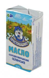 Масло ТМ Простоквашино