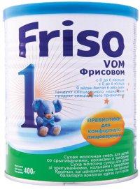Заменитель грудного молока С рождения ТМ Friso