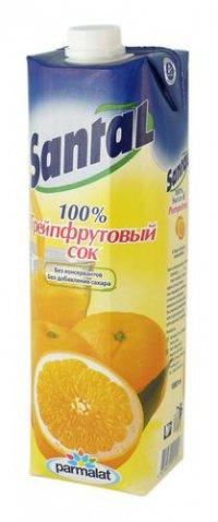Сок Грейпфрут ТМ Santal