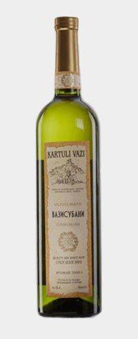 Вино Грузии Белое Сухое ТМ Kartuli Vazi