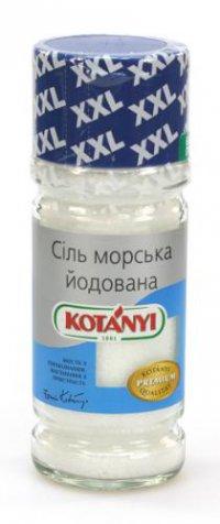 Соль морская йодированная ТМ KOTANYI