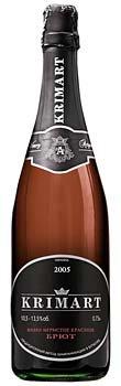 Шампанское Украины Красное Брют выдержаное ТМ Артемівське