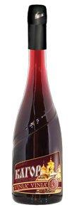 Вино Украины Красное Десертное ТМ Vinia