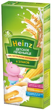 Печенье Для детей ТМ Heinz