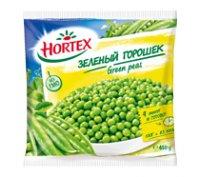 Замороженные овощи Горошок зелёный ТМ Hortex