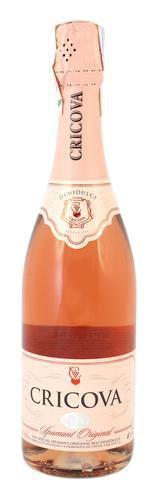 Шампанское Молдавии Розовое Полусладкое ТМ Cricova