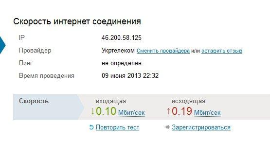 ОГО интернет от Укртелеком -