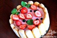 Йогуртовый торт с летними ягодами