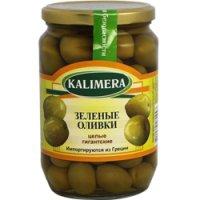 Оливки (зелёные) С косточкой ТМ Kalimera