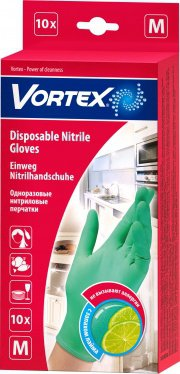 Перчатки для уборки Размер L ТМ Vortex