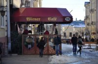 Ресторан-кафе «Венская кофейня» в Черновцах