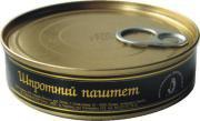 Рыбные консервы Паштет шпротный ТМ Brivais Vilnis