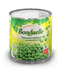 Овощные консервы Горошек ТМ Bonduelle