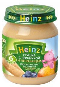 Фруктовое пюре Для детей ТМ Heinz