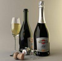 "Шампанское ""Martini"" Asti"