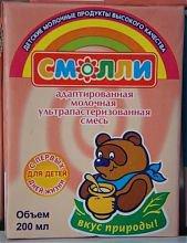 """Детское питание """"Смолли"""""""