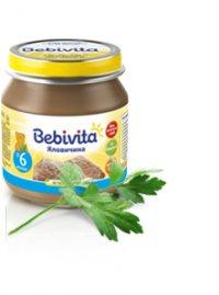 Мясное пюре Для детей ТМ Bebivita