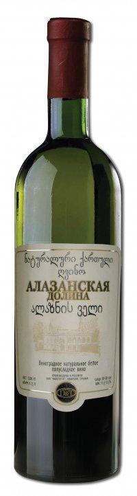 Вино Грузии Белое Полусладкое ТМ Marani