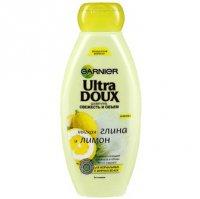 Шампунь Garnier Ultra Doux Мягкая глина и лимон