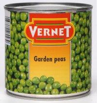 Овощные консервы Горошек ТМ Vernet