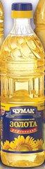 Масло подсолнечное Рафинированное ТМ Чумак