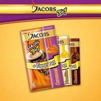 Кофе Jacobs original 3 в 1 +Topping