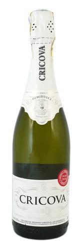Шампанское Молдавии Белое Полусладкое ТМ Cricova