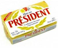 Масло сливочное President