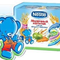 Молочные напитки Nestle Prebio