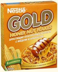 Завтраки Nestle Gold