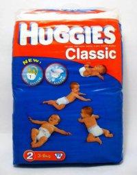 Детские подгузники Унисекс ТМ Huggies