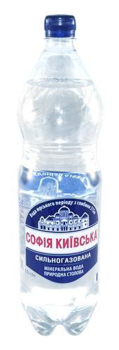Вода Минеральная Газированная ТМ Софія Киівська