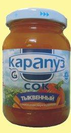 Сок Для детей ТМ Карапуз