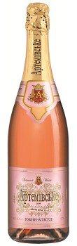 Шампанское Украины Розовое Полусухое выдержаное ТМ Артемівське