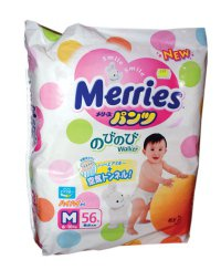 Детские подгузники Подгузники-трусики Унисекс ТМ Merries
