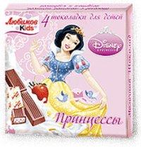 Детский шоколад Для детей ТМ Disney Любимов Kids