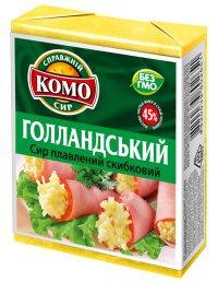Продукт сырный ТМ Комо