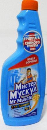 Сменный блок Для уборки Ванны ТМ Mr.Muscle