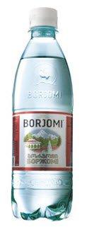 Вода Минеральная Газированная ТМ Borjomi