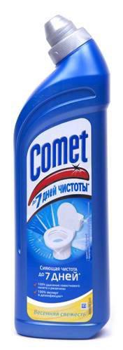 Средство для митья унитаза ТМ Comet