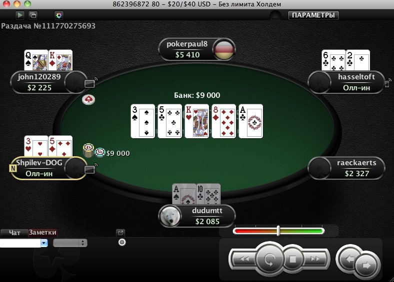 Покер старс / Pokerstars -