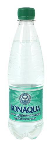 Вода Питьевая Слабогазированная ТМ BonAqua