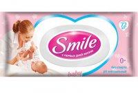 Детские салфетки ТМ Smile