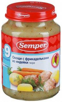 Мясное пюре Для детей ТМ Semper