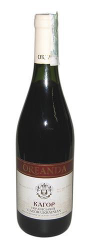 Вино Украины Красное Десертное ТМ Ореанда