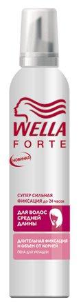 Пена Сильной фиксации ТМ Wella Forte