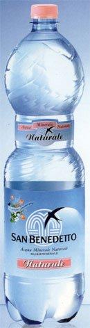 Вода Минеральная Не газированная ТМ San Benedetto