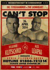 Бой Кличко vs. Леапаи